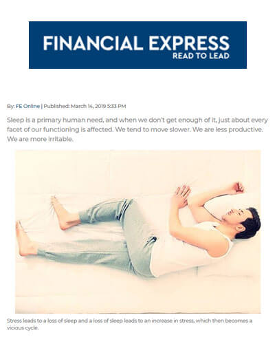 World Sleep Day tomorrow Sleep is the best Stress Buster - The Financial Express