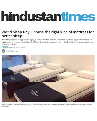 World Sleep Day_ Choose the right kind of mattress for better Sleep Hindustan Times